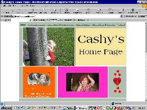 Cashy's Home Page